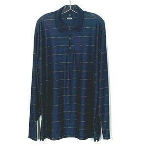Dri-Fit UV Long Sleeve Golf Shirt Rare Color Wave